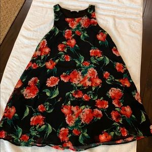 UEC Everly floral shift dress